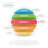 Ilustração do vetor de Infographics Imagens de Stock Royalty Free