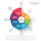 Ilustração do vetor de Infographics Foto de Stock