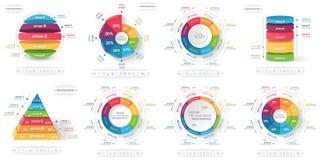 Ilustração do vetor de Infographics Fotografia de Stock