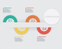 Ilustração do vetor de Infographics do negócio Foto de Stock Royalty Free