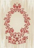 Ilustração do vetor de um vermelho a Foto de Stock Royalty Free