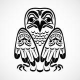 Ilustração do vetor de uma águia. Imagens de Stock