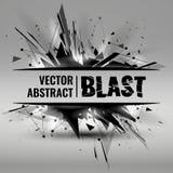 Ilustração do vetor de uma explosão abstrata Fotos de Stock