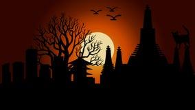Ilustração do vetor do dia da Lua cheia ilustração royalty free
