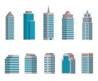 Ilustração do vetor do ícone da construção Fotografia de Stock Royalty Free
