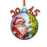 Ilustração do vetor do brinquedo da pele-árvore com engraçado Fotos de Stock Royalty Free