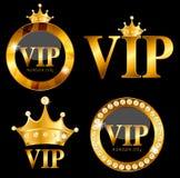 Ilustração do vetor do cartão dos membros do VIP Fotos de Stock Royalty Free