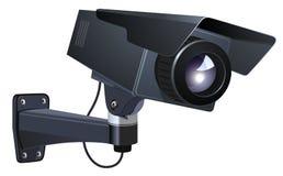 Ilustração do vetor do CCTV Foto de Stock Royalty Free