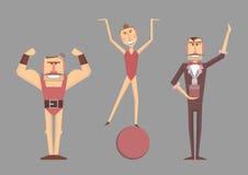 Ilustração do vetor do circo Imagens de Stock