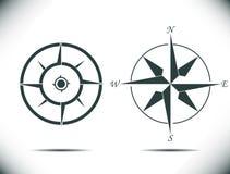 Ilustração do vetor do compasso Fotos de Stock Royalty Free