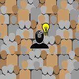 Ilustração do vetor do conceito criativo da ideia Imagens de Stock Royalty Free