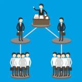 Ilustração do vetor do conceito do negócio Imagem de Stock Royalty Free