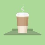Ilustração do vetor do copo de café Imagem de Stock Royalty Free