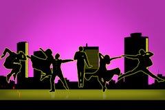 Ilustração do vetor do dançarino ilustração royalty free
