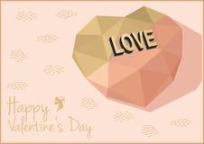 Ilustração do vetor do dia de Valentim Fotografia de Stock Royalty Free