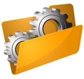 Ilustração do vetor do dobrador dos ajustes Fotografia de Stock
