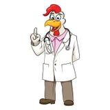 Ilustração do vetor do doutor de Rooser Fotos de Stock