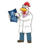 Ilustração do vetor do doutor de Rooser Fotos de Stock Royalty Free