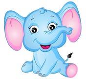 Ilustração do vetor do elefante dos desenhos animados ilustração do vetor