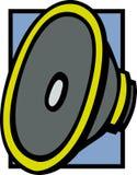 Ilustração do vetor do excitador do altofalante ilustração stock