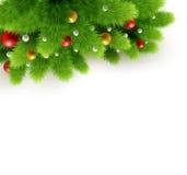 Ilustração do vetor do fundo do Natal Foto de Stock