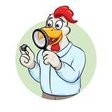 Ilustração do vetor do homem de negócios de Rooser Imagens de Stock Royalty Free