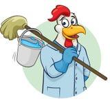 Ilustração do vetor do líquido de limpeza de Rooser Foto de Stock
