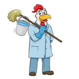 Ilustração do vetor do líquido de limpeza de Rooser Imagens de Stock Royalty Free