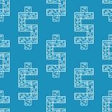 Ilustração do vetor do labirinto do dólar do labirinto liso Foto de Stock
