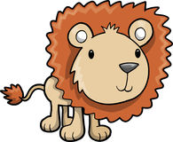 Ilustração do vetor do leão do safari Imagem de Stock Royalty Free