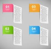 Ilustração do vetor do molde do negócio de Infographic Imagens de Stock