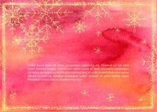 Ilustração do vetor do Natal Foto de Stock