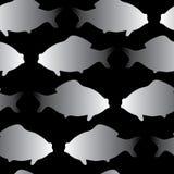 Ilustração do vetor do peixe dourado Fotografia de Stock Royalty Free