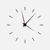 Ilustração do vetor do relógio do ícone Imagem de Stock Royalty Free