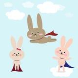 Ilustração do vetor dos coelhos Fotos de Stock Royalty Free