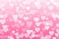 Ilustração do vetor dos confetes do coração Imagens de Stock