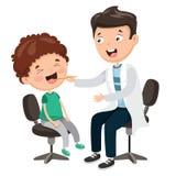 Ilustração do vetor dos cuidados médicos e médico ilustração stock