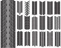 Ilustração do vetor dos pneus Fotos de Stock