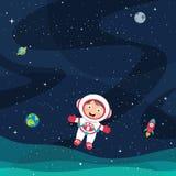Ilustração do vetor do espaço ilustração do vetor