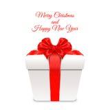 Ilustração do vetor Feliz Natal e ano novo feliz Fotografia de Stock
