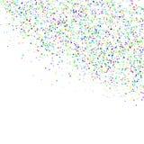 Ilustração do vetor do fundo dos confetes Fotografia de Stock Royalty Free