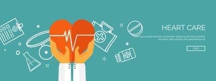 Ilustração do vetor Fundo médico liso Primeiros socorros dos cuidados médicos, cardiologia da pesquisa Medicinestudy chemical ilustração do vetor
