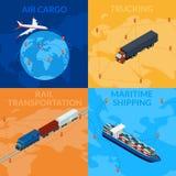 Ilustração do vetor logística ilustração stock