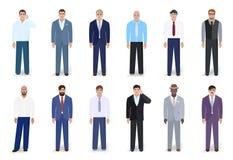 Ilustração do vetor do negócio dos homens Imagem de Stock Royalty Free