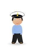 Ilustração do vetor o marinheiro alegre Fotografia de Stock
