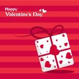 Ilustração do vetor para o dia dos Valentim imagens de stock royalty free