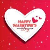 Ilustração do vetor para o dia dos Valentim fotos de stock