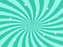 Ilustração do vetor para o projeto do redemoinho O teste padrão radial de roda stars o fundo ilustração stock