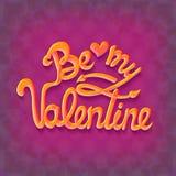 Ilustração do vetor Projeto do cartaz do partido do dia de Valentim Molde do convite, do inseto, do cartaz ou do cartão Fotografia de Stock Royalty Free