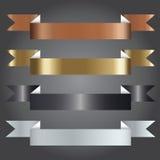 Ilustração do vetor, símbolo da fita para trabalhos criativos Imagens de Stock Royalty Free
